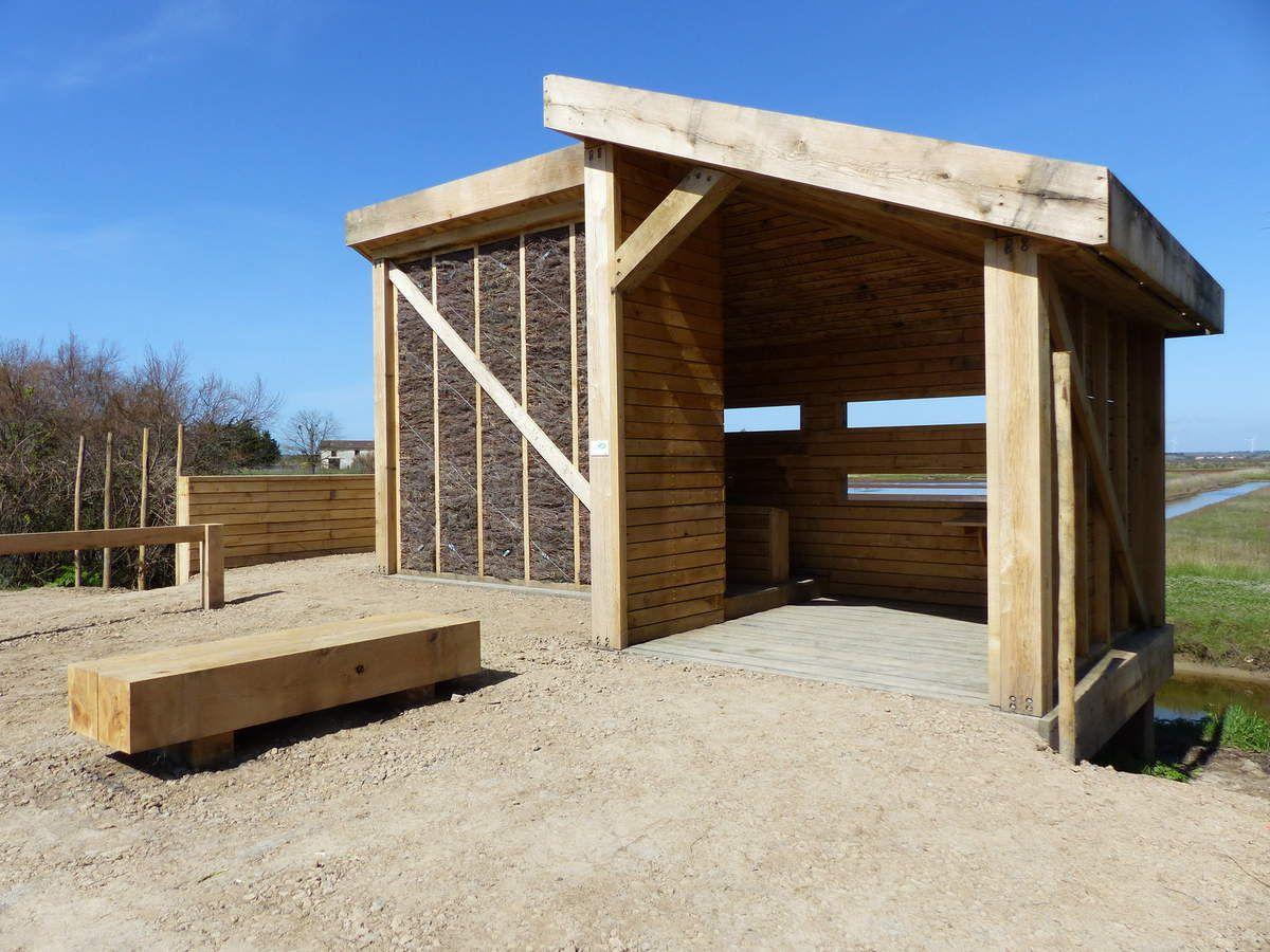 Les nouveaux observatoires à oiseaux du Marais d'Olonne