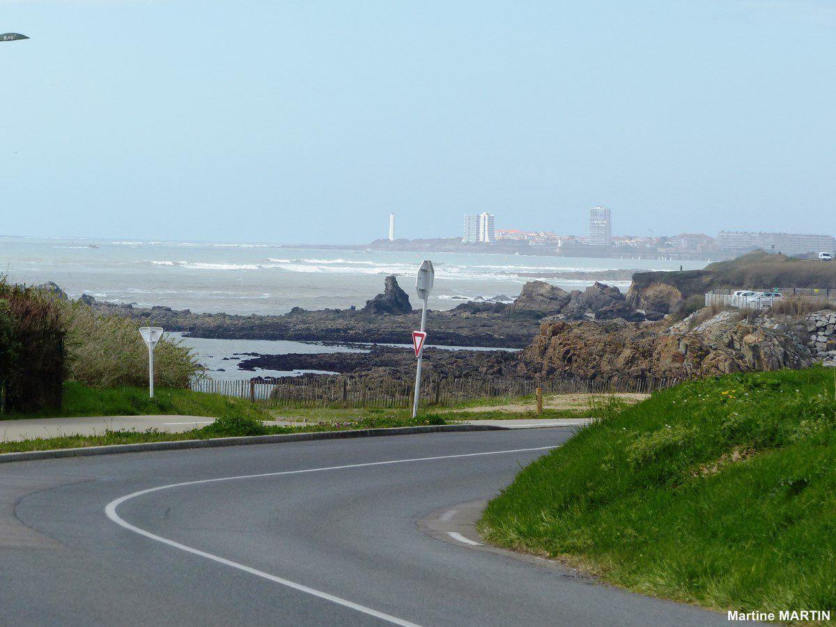 Anse au moine vue de la route littorale
