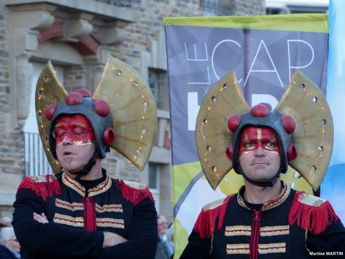 Défilé de la remise des trophées du Vendée Globe : Le Char Cap Bonne espérance