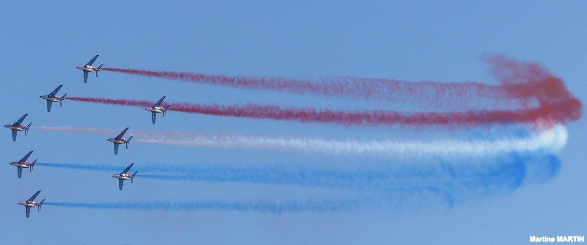Vendée Air Show Les Sables d'Olonne : La patrouille de France