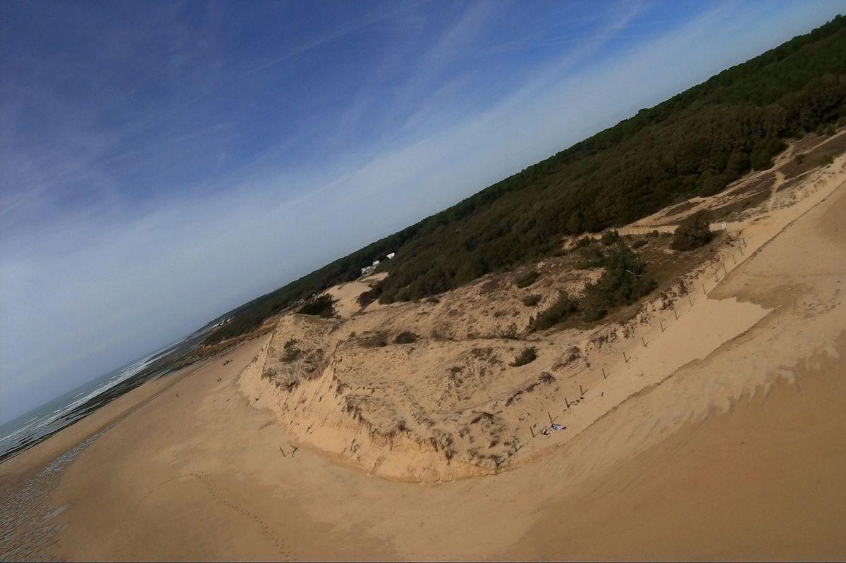 Les Dunes du Veillon au gré des Marées à Talmont Saint-Hilaire