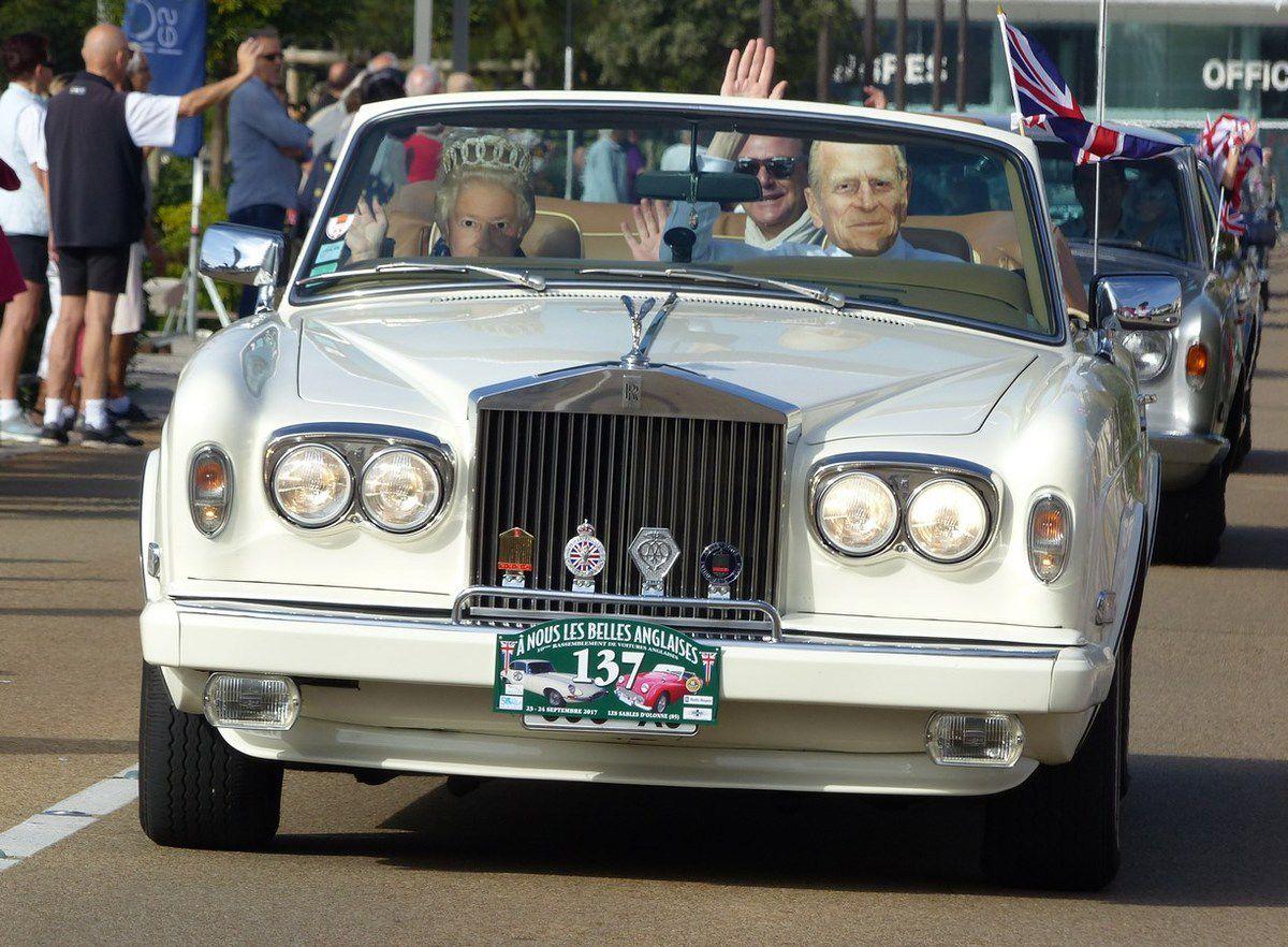 La reine Elisabeth et son époux