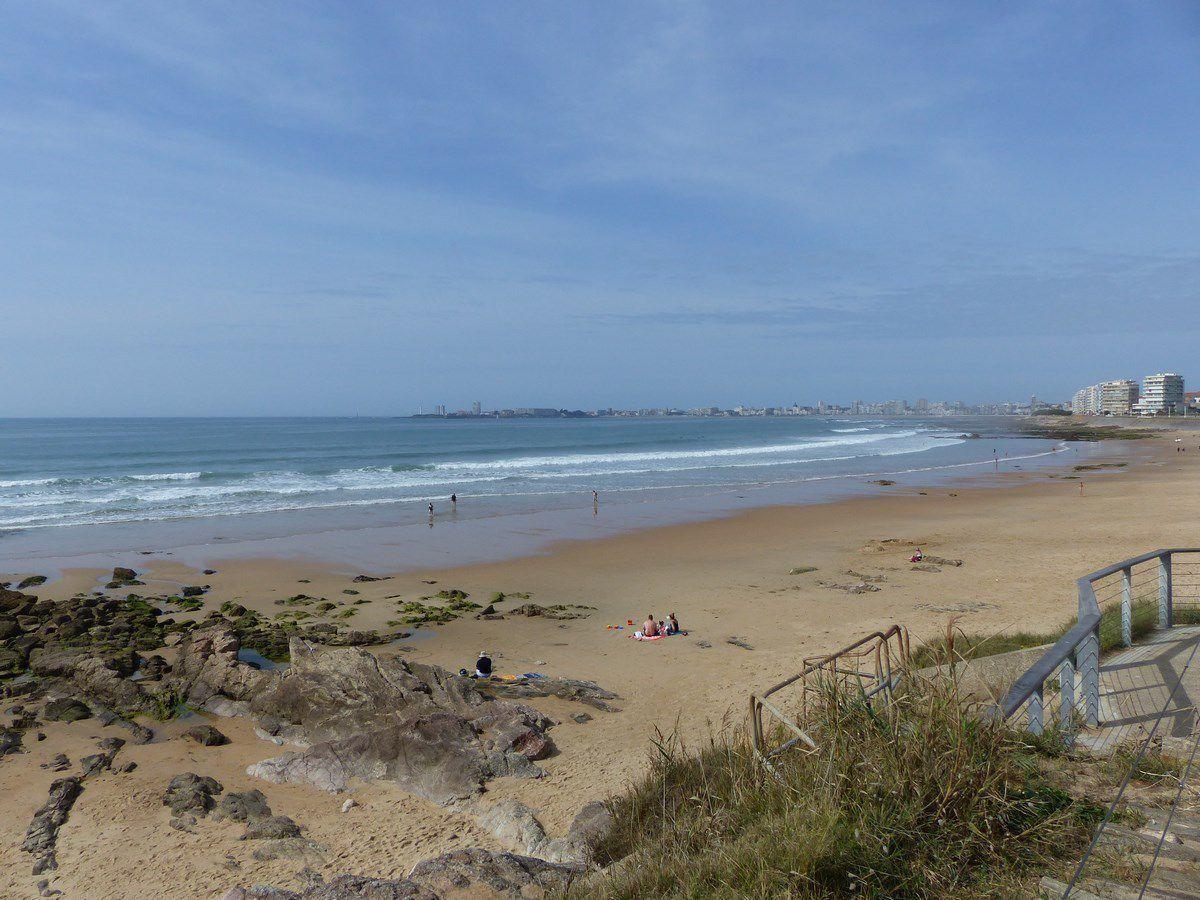 La plage du Tanchet en Septembre