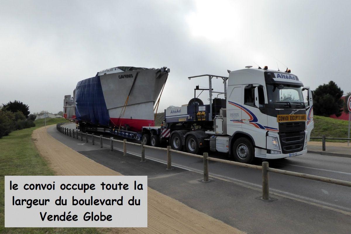 Convoi très exceptionnel au pays des Olonne