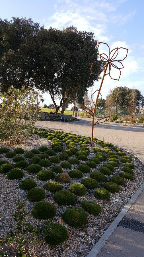 Le parc des roses aux Sables d'Olonne