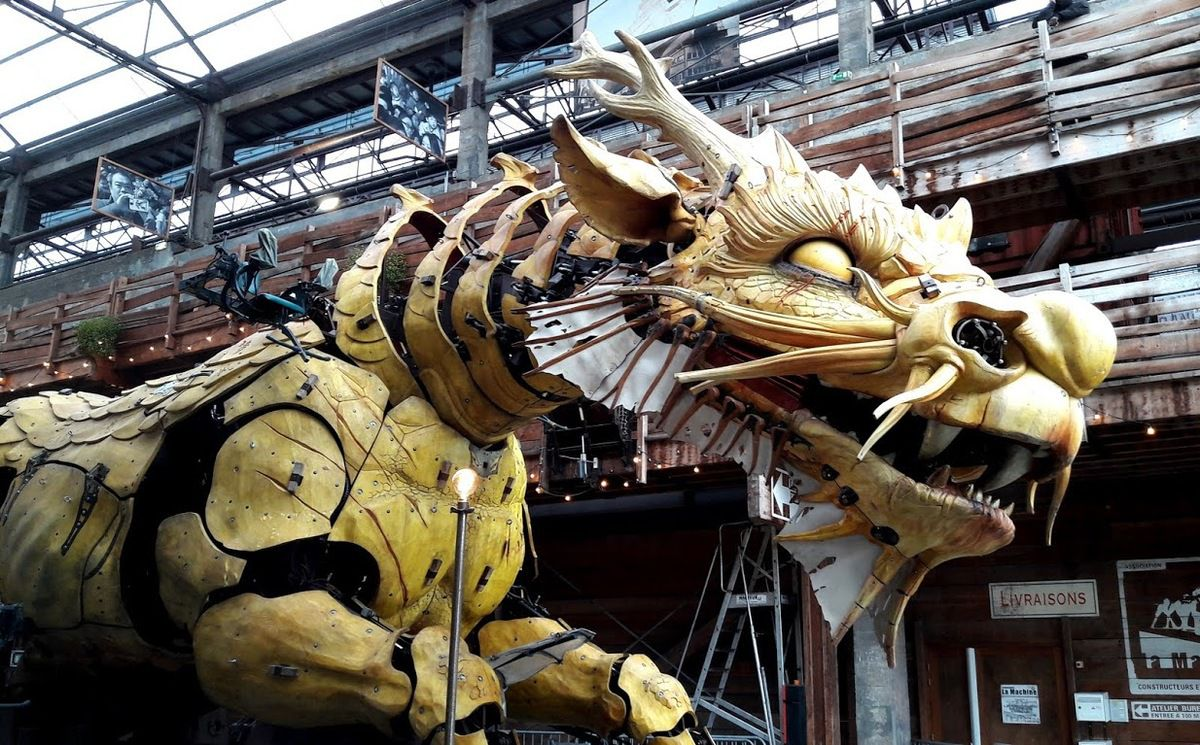 Le dragon des machines de l'ïle de Nantes