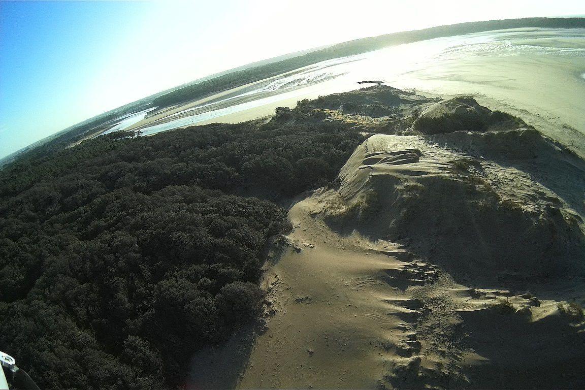 Erosion de la dune du veillon (2) : Photos aériennes