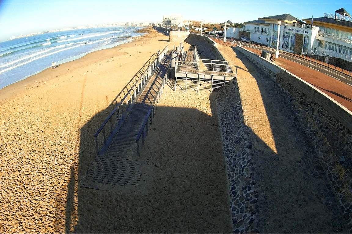Accès handicapé de la plage du Tanchet