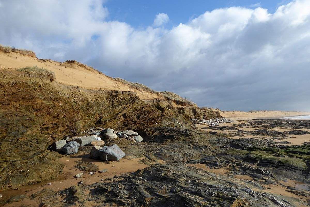 Erosion des dunes à Sauveterre