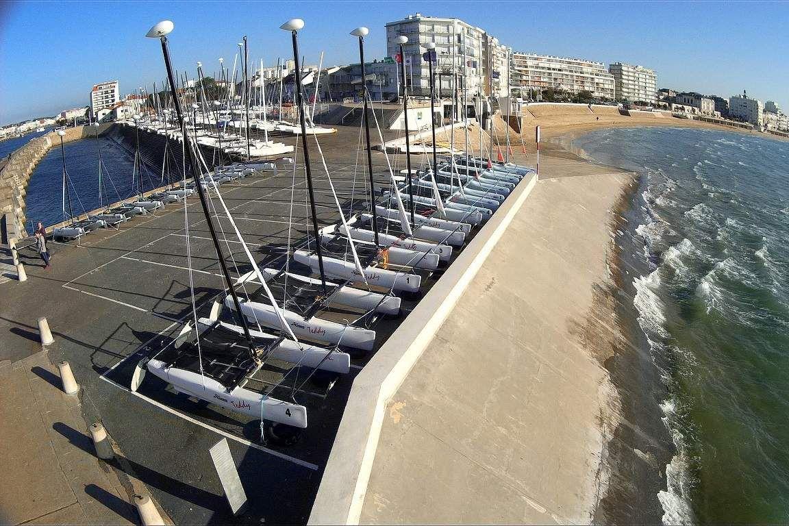 Les voiliers de la base de mer des Sables d'Olonne