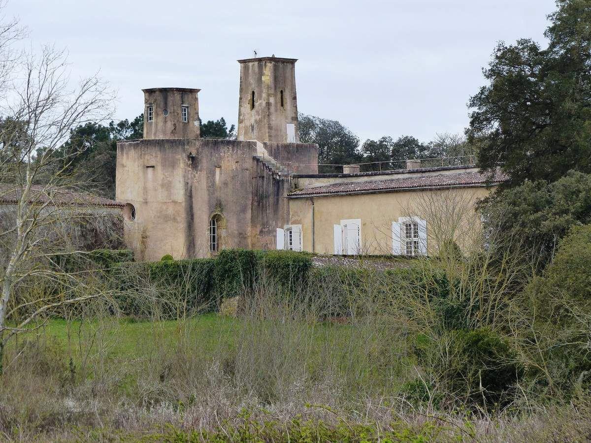 Le château du Veillon à Talmont Saint Hilaire
