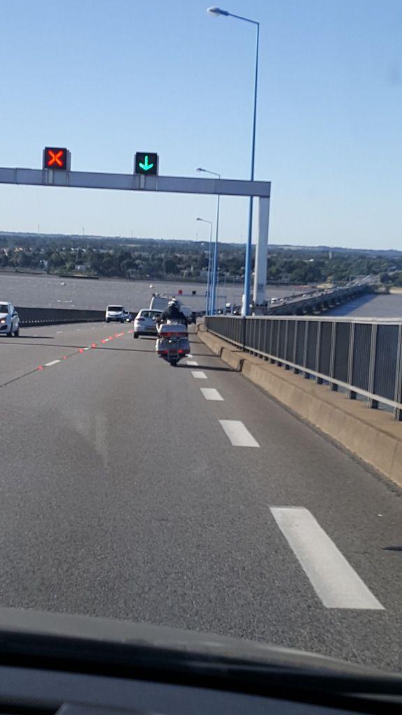 Sur le pont de Saint Nazaire