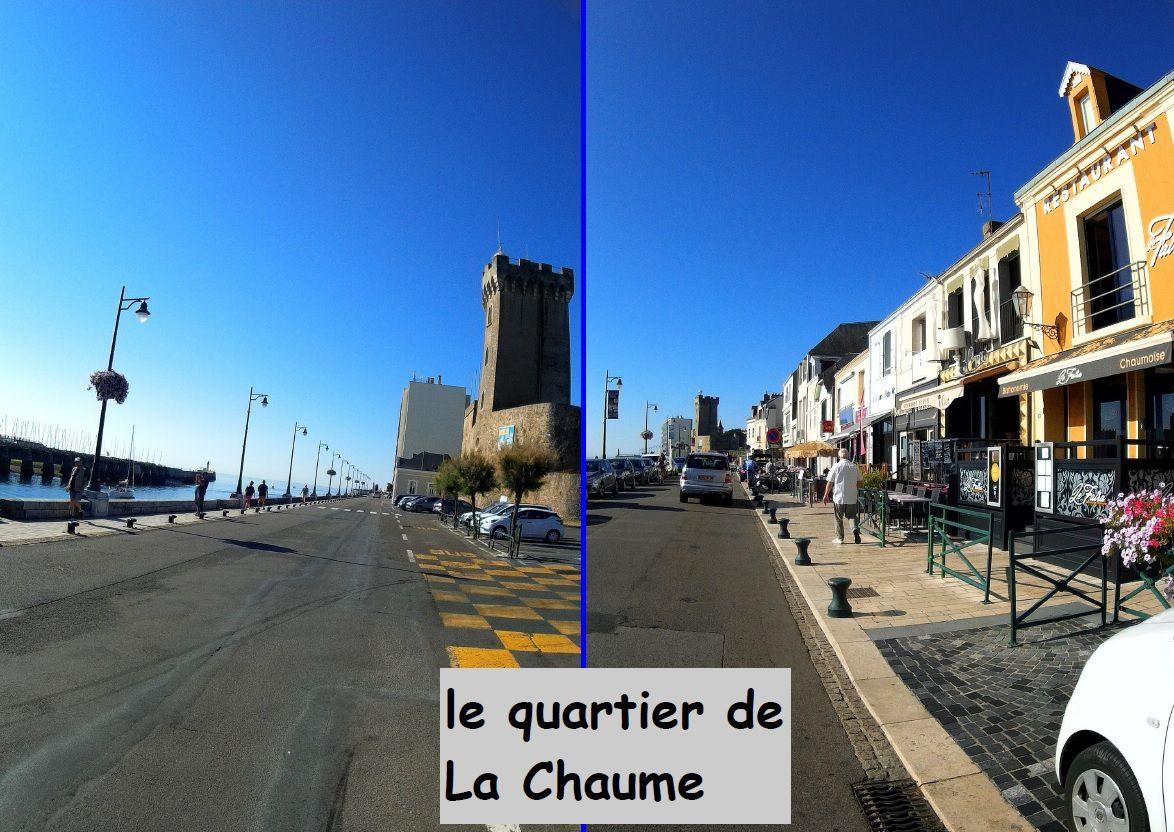 Promenade en vélo aux Sables d'Olonne du phare vert à la Chaume