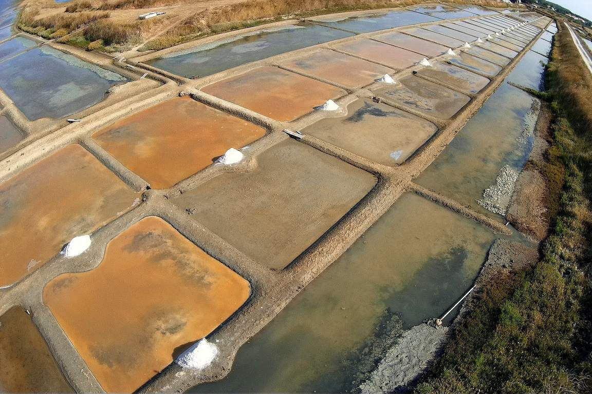 Production de sel 2018 dans les marais de l'ïle d'Olonne