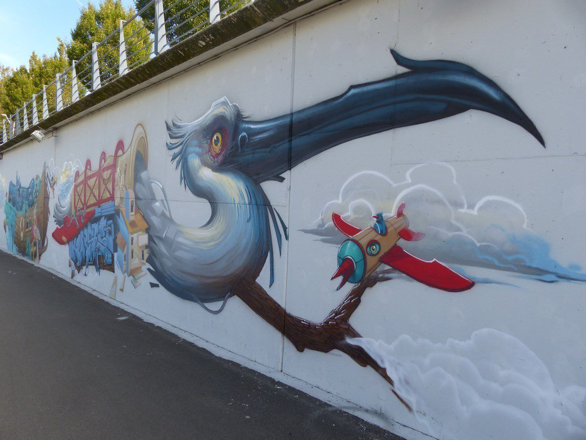 Street art La Roche Sur Yon Vendée