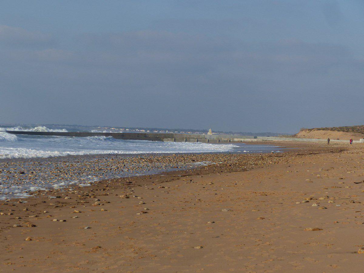 De la plage de Sauveterre d'Olonne à l'écluse de la gachère à Brem sur mer