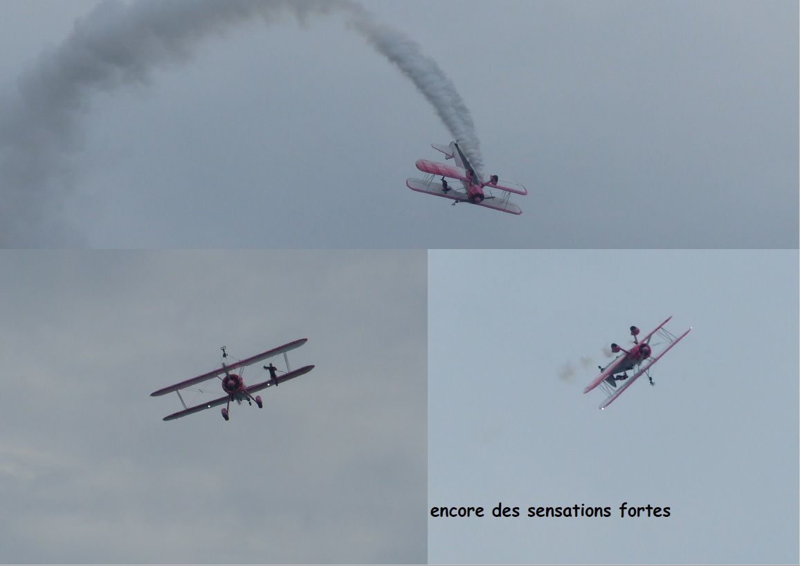 Danielle Wingwalker au Vendée Air Show 2019