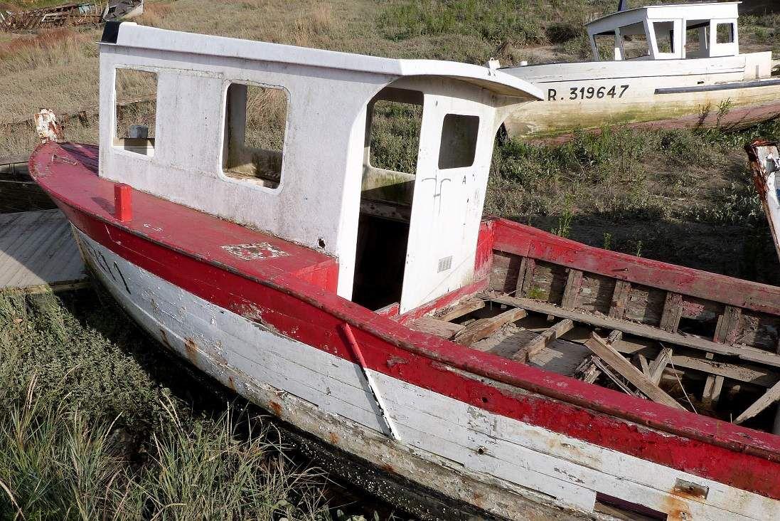 Cimetière à bateaux / La Faute sur mer