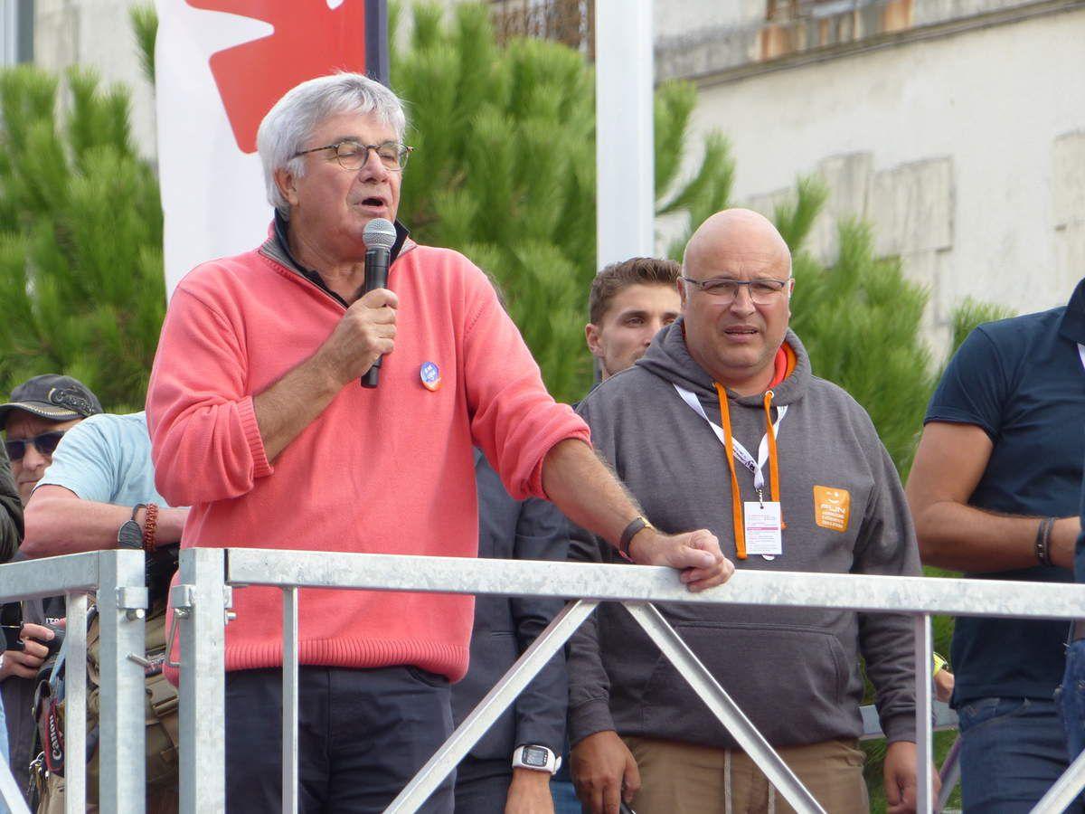 Le Président de La Vendée de la Ligue contre le cancer