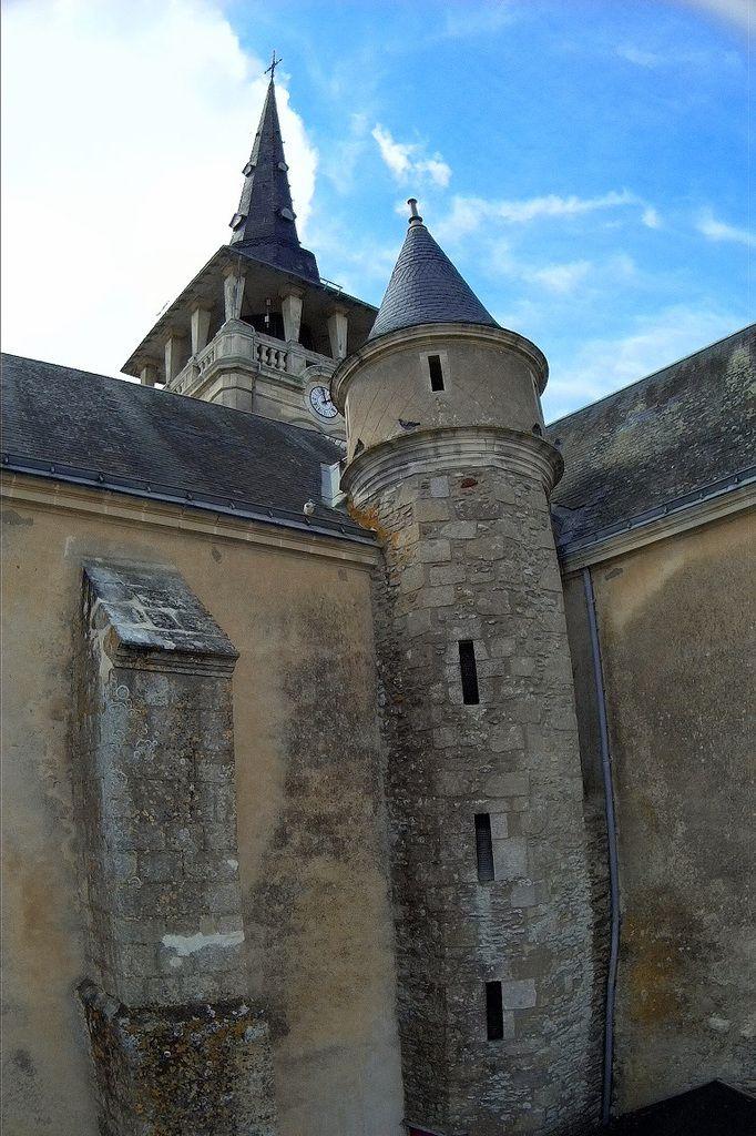 L'église de l'Île d'Olonne