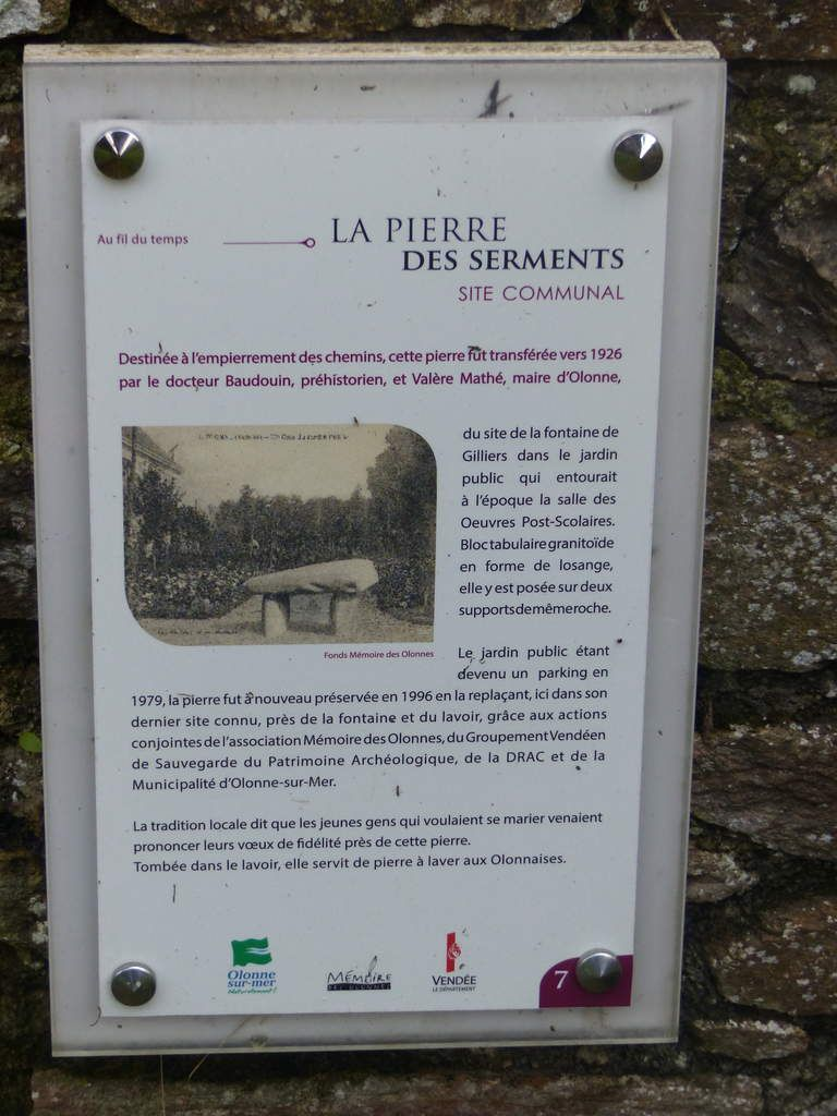 La pierre des serments