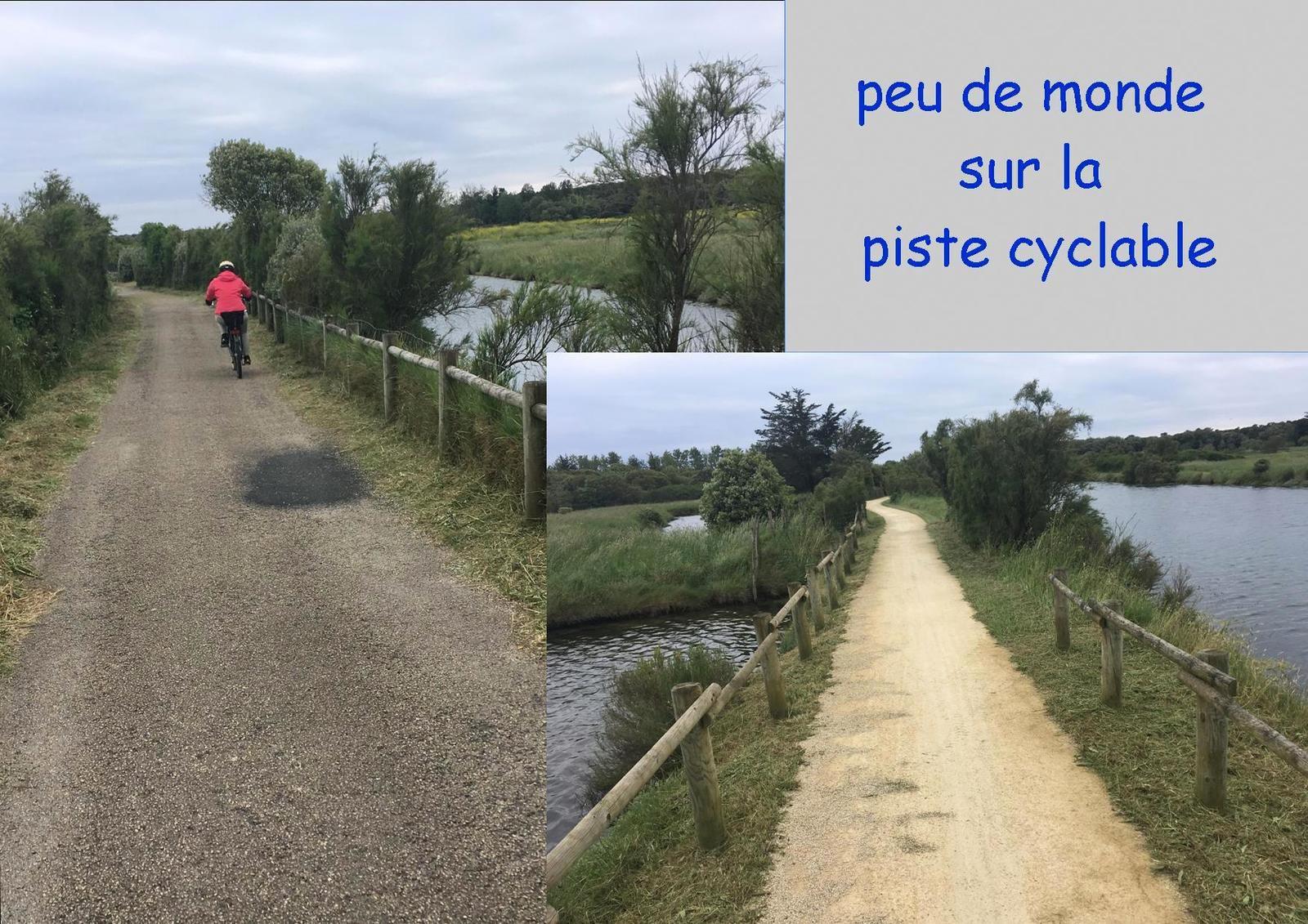 Première promenade vélo de déconfinement