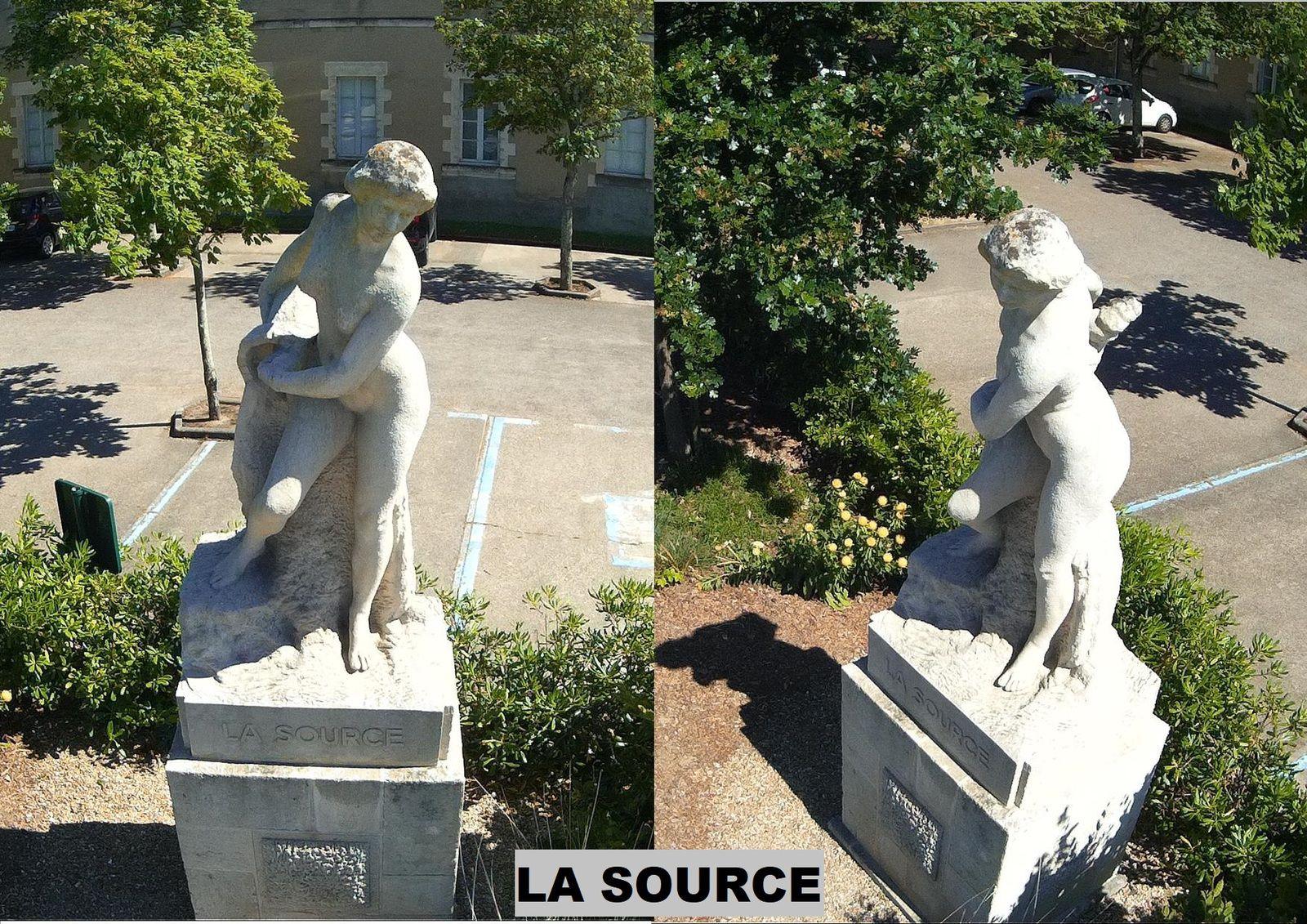 Statues des Sables d'Olonne vues de haut