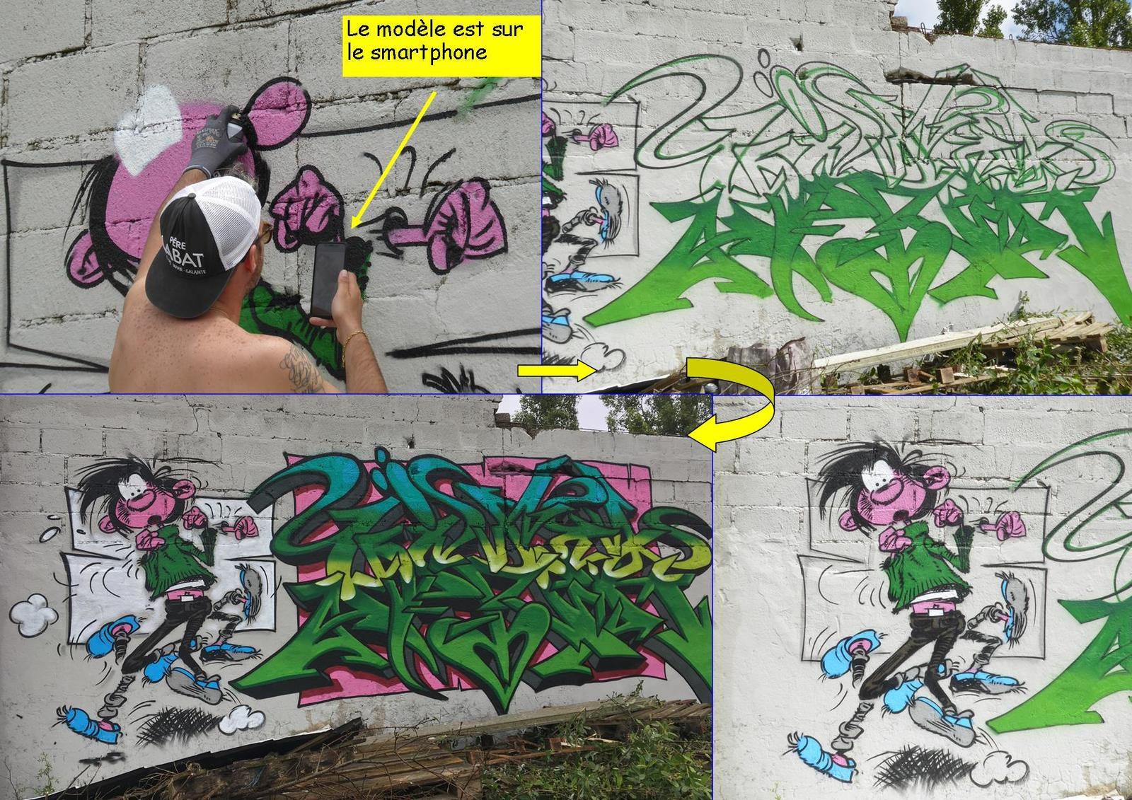 Graffs aux Sables d'Olonne