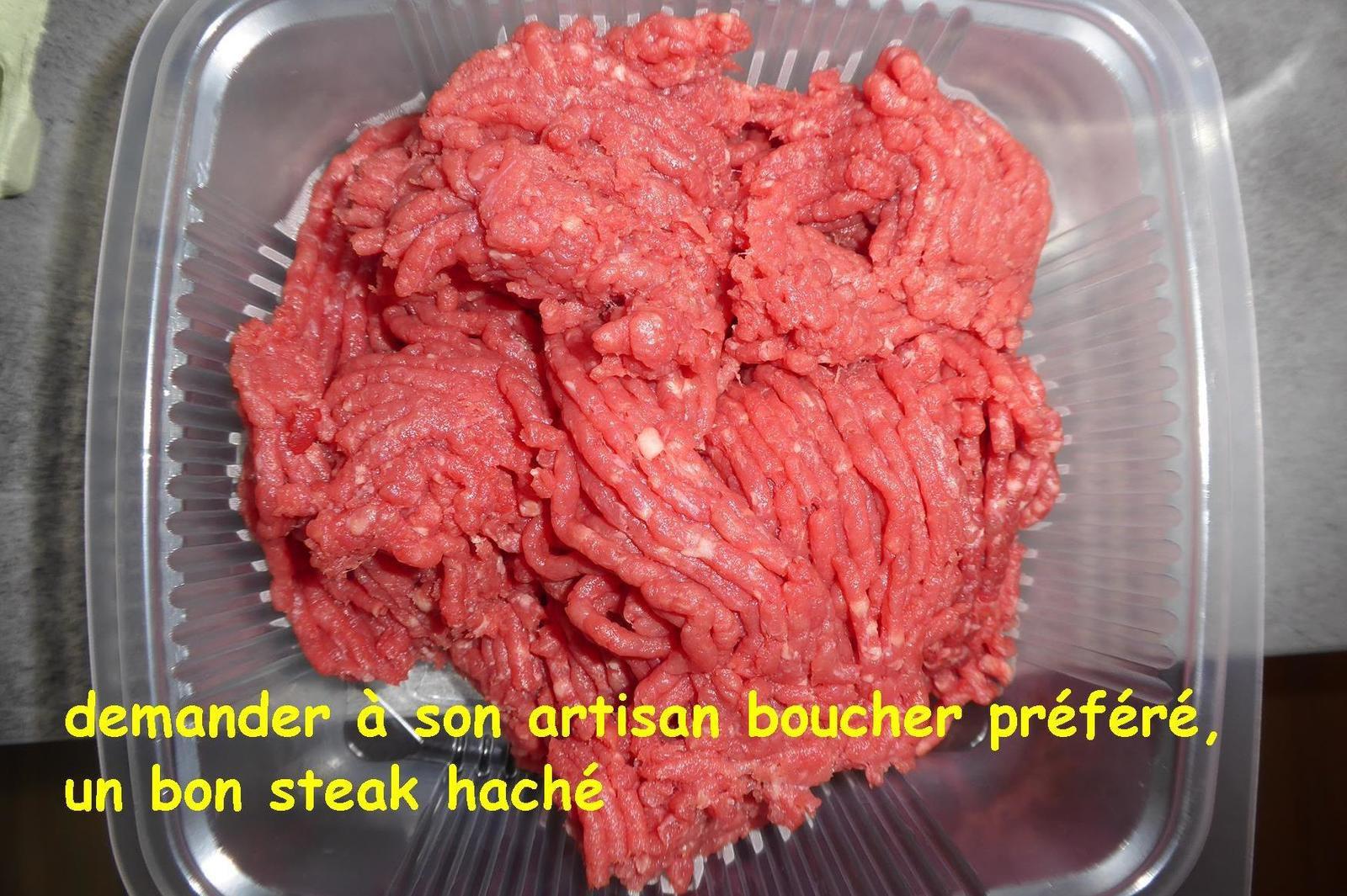 Recette du steak tartare