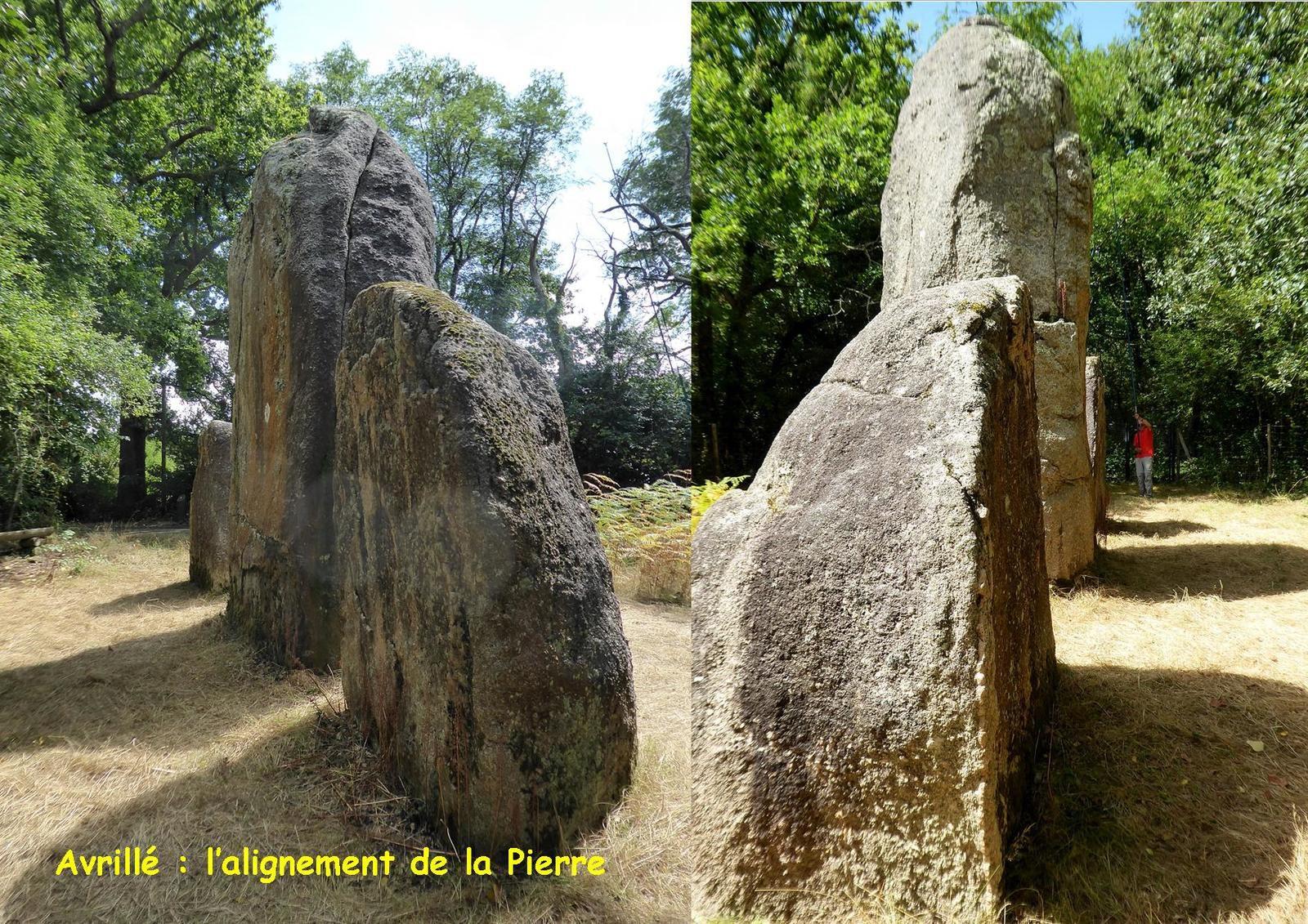 Les mégalithes d'Avrillé et sa région