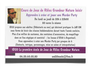 Cours de Murder Party