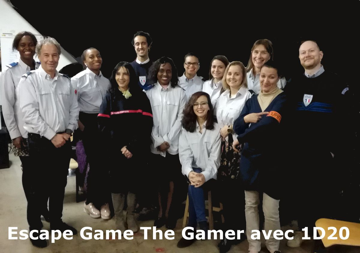 Escape Game avec 1D20 The Gamer