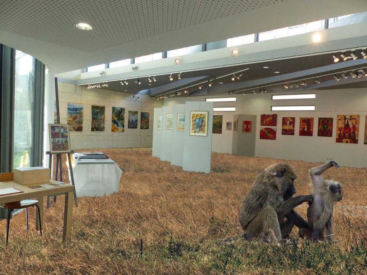 8 vues (non contractuelles) d'une exposition