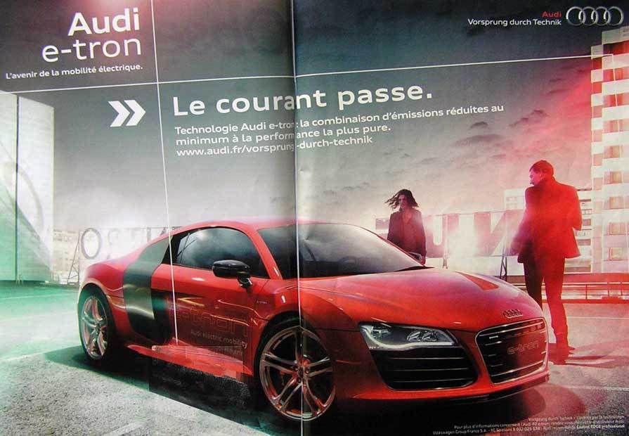 Audi e-tron (merde alors, quelle voiture !)