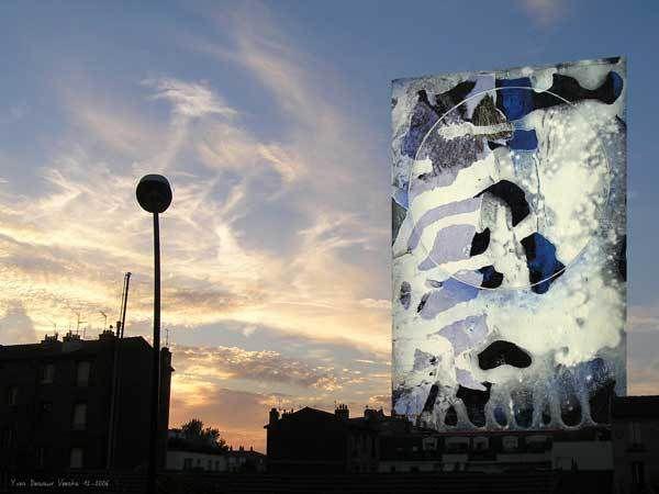 Yves Desvaux Veeska - Période bleue
