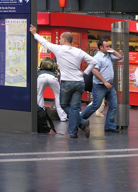 Ballet en gare