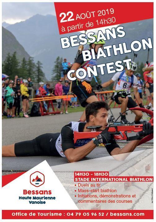 Bessans : assistez au 'Bessans Biathlon Contest'