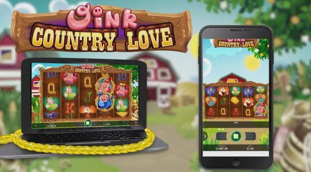 machine à sous mobile Oink Country Love du logiciel Microgaming