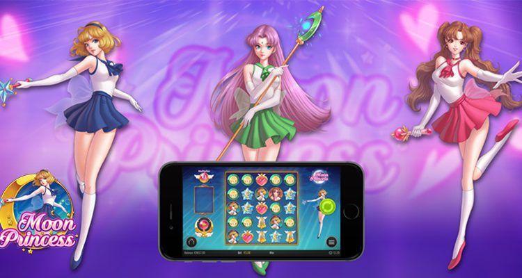 machine à sous mobile Moon Princess du logiciel Play'n Go