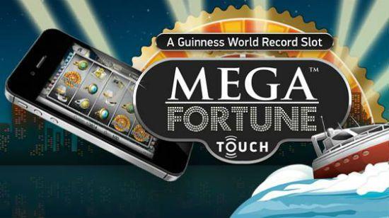 machine à sous mobile Mega Fortune