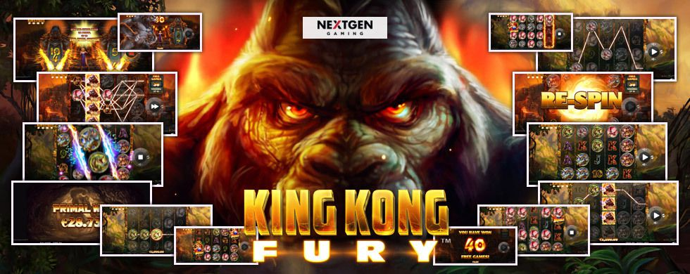 machine à sous mobile King Kong Fury logiciel NextGen