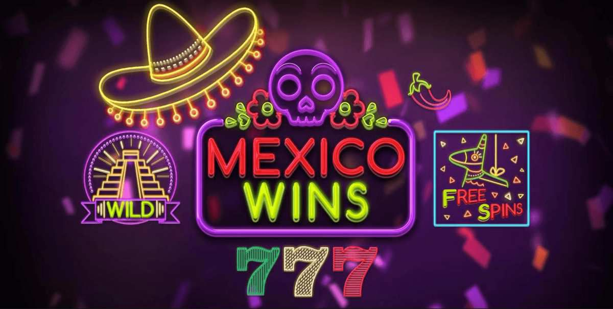 machine à sous mobile Mexico Wins développeur Booming Games