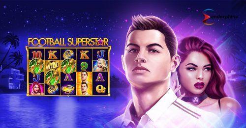 machine à sous mobile Football Superstar logiciel Endorphina