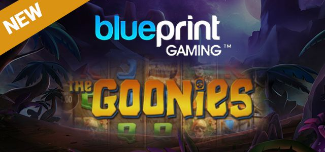 machine à sous mobile The Goonies logiciel Blueprint Gaming