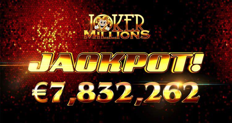 gagnant jackpot machine à sous mobile Joker Millions développeur Yggdrasil Gaming