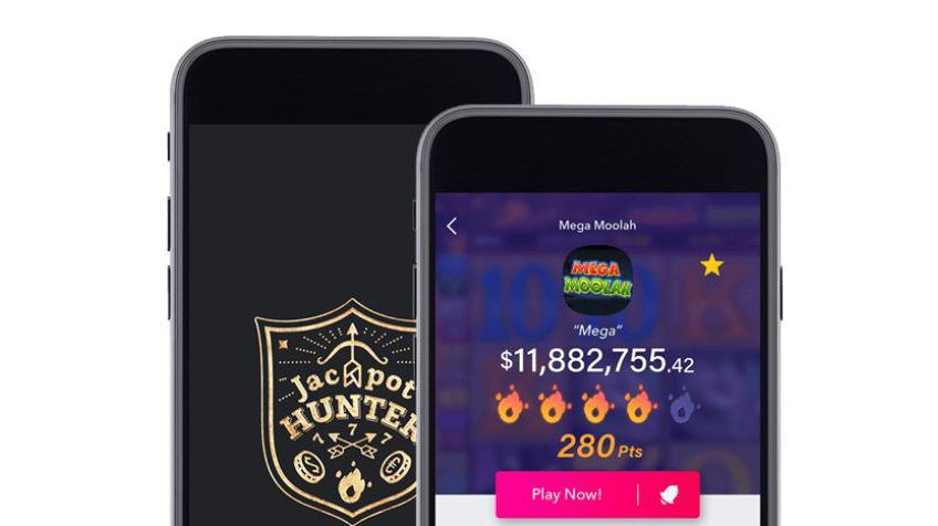 application mobile Jackpot Hunter