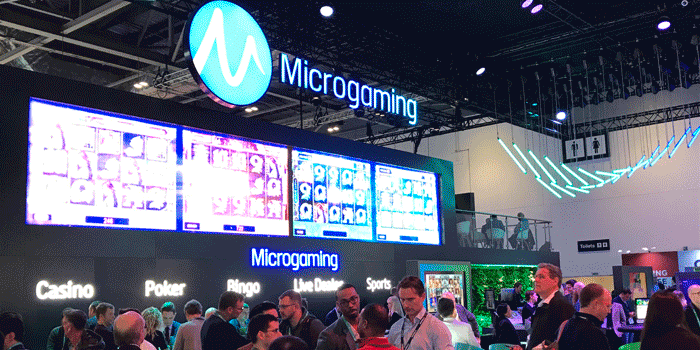 développeur Microgaming ICE Totally Gaming 2019