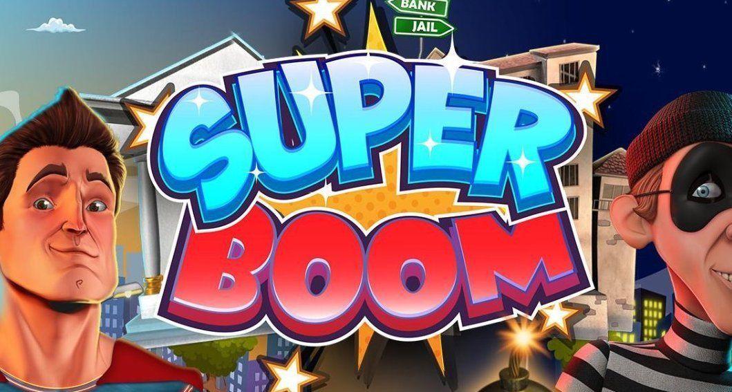 machine à sous mobile Super Boom développeur Booming Games
