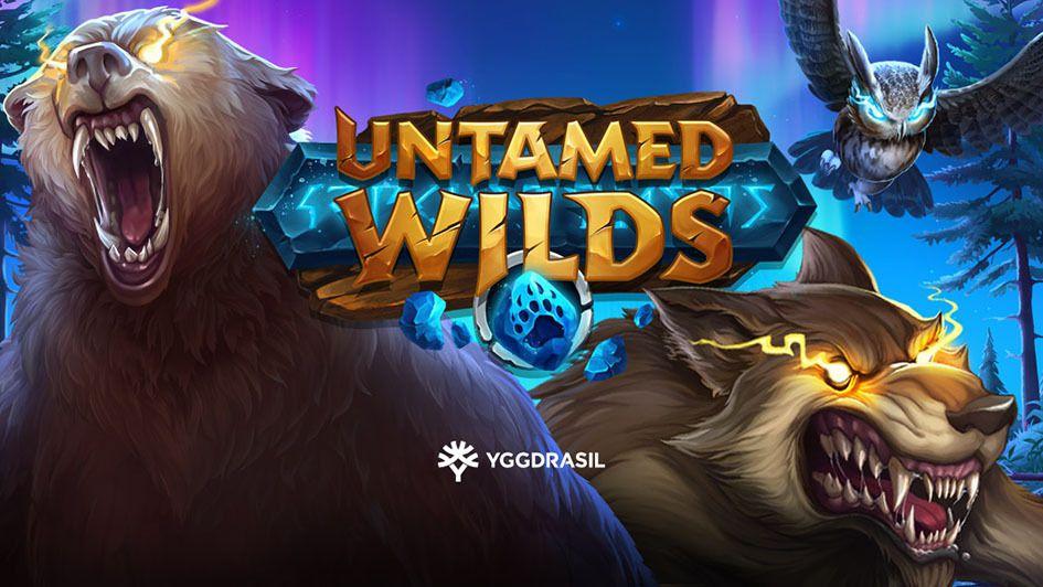 machine a sous mobile Untamed Wilds développeur Yggadrasil
