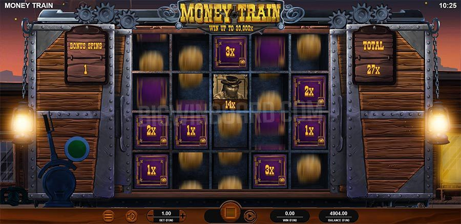 machine a sous mobile Money Train logiciel Relax Gaming